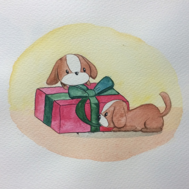 christmas puppies alice