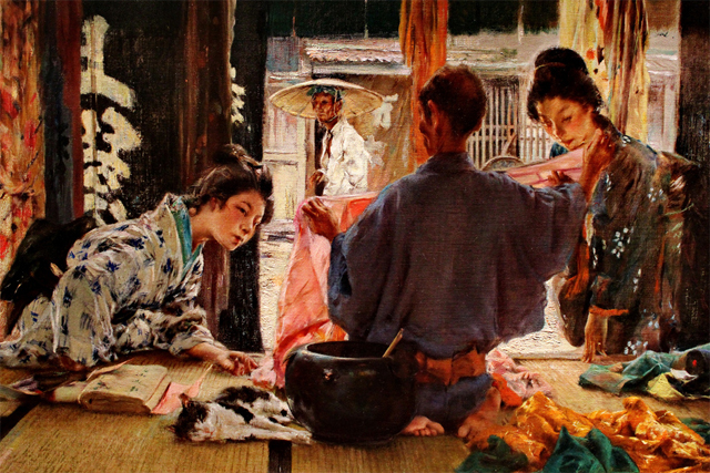 geisha blum 1