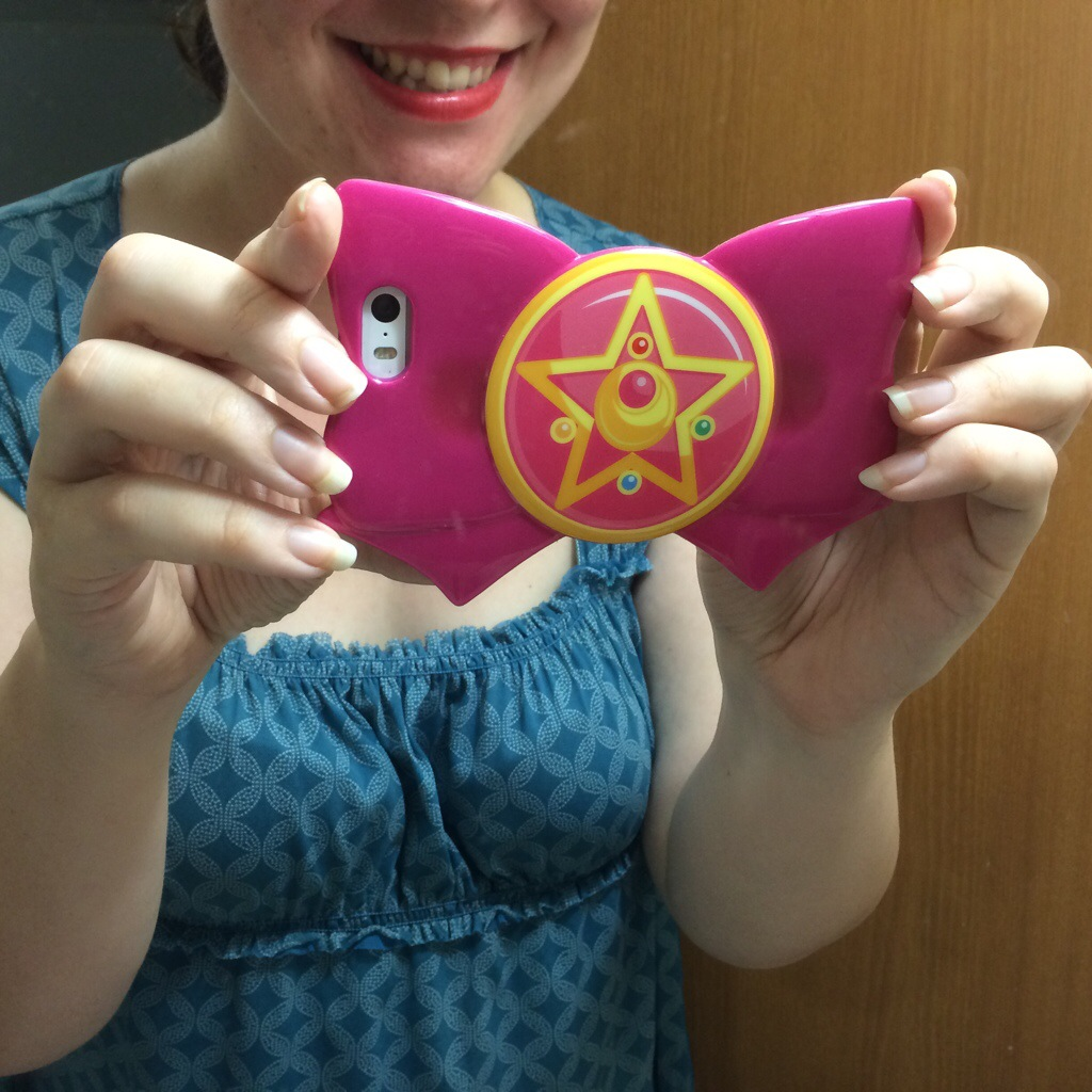reputable site 5da2d 2e6d8 Sailor Moon Cell Phone Case!